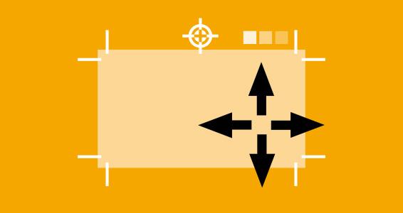 Druckmarken ausrichtung